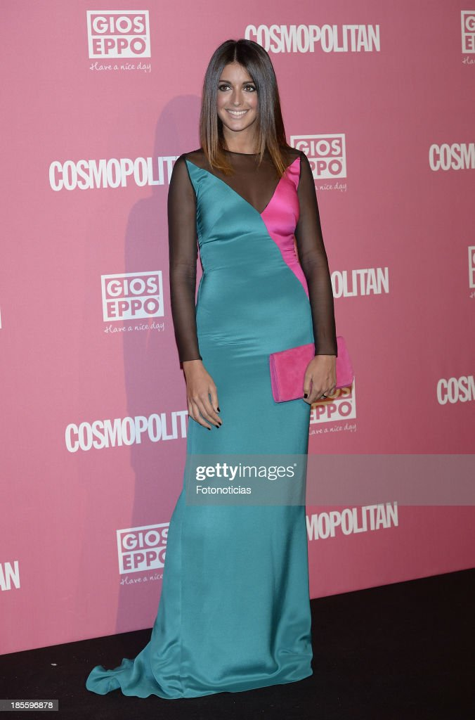 Noelia Alonso attends Cosmopolitan Fun Fearless Female Awards 2013 at the Ritz Hotel on October 22, 2013 in Madrid, Spain.