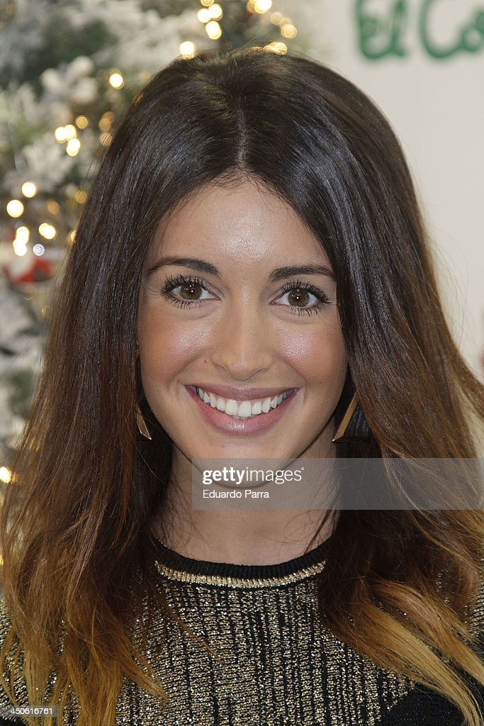 <a gi-track='captionPersonalityLinkClicked' href=/galleries/search?phrase=Noelia+Lopez&family=editorial&specificpeople=2416580 ng-click='$event.stopPropagation()'>Noelia Lopez</a> attends El Corte Ingles Christmas space party photocall at El Corte Ingles store on November 19, 2013 in Madrid, Spain.