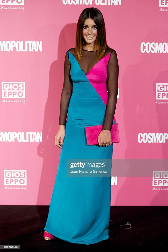 Noelia Lopez attends the Cosmopolitan Fun Fearless Female Awards 2013 at the Ritz Hotel on October 22 2013 in Madrid Spain