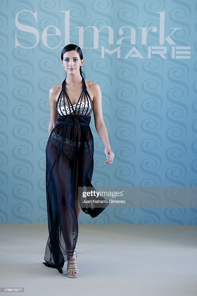 Noelia Lopez presents the new Selmark swimwear collection at Circulo de Bellas Artes on March 6, 2014 in Madrid, Spain.