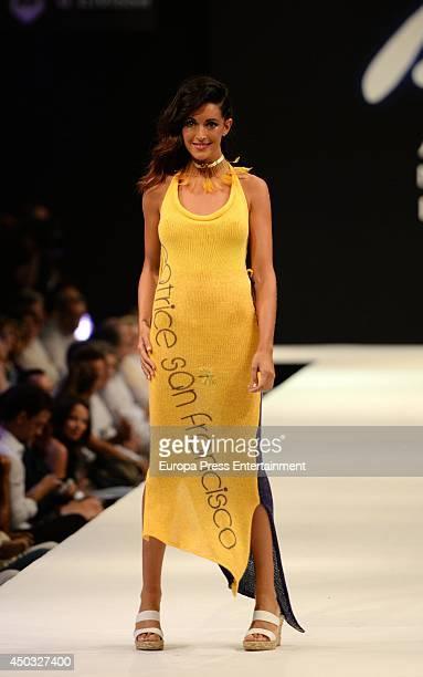 Noelia Lopez walks the runway of Adlib Fashion Show on June 8 2014 in Ibiza Spain