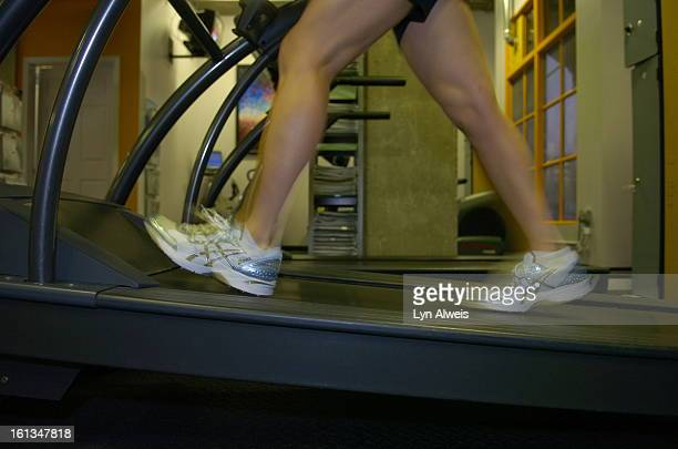 Noelle Brownson demonstrates interval training at her fitness studio called Fitness Station located at 475 West 12th Ave in Denver The Denver Post...