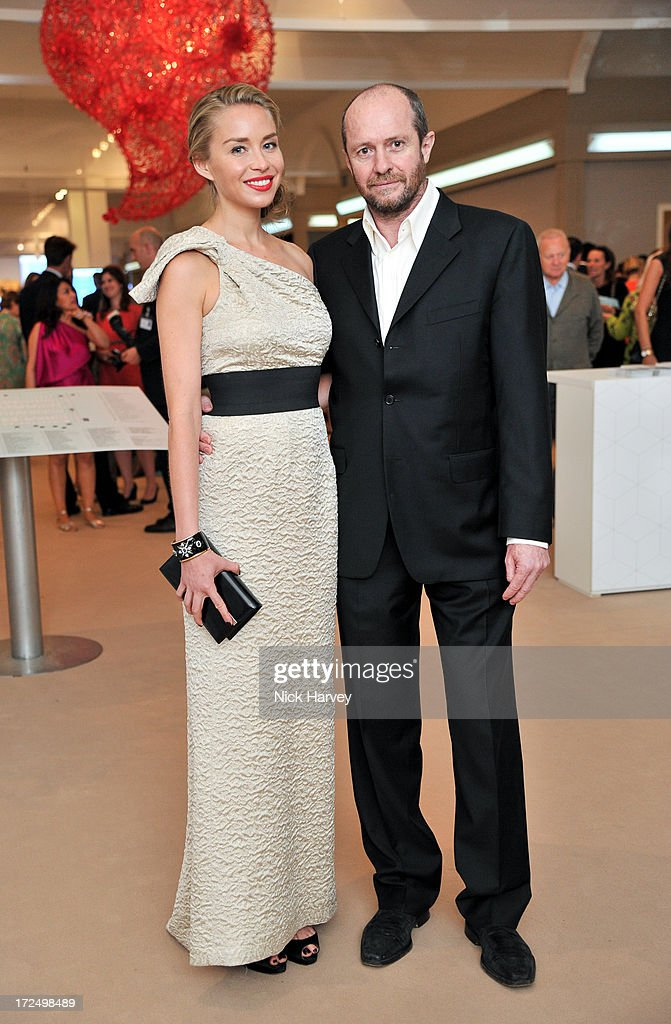 Noelle Reno and Scot Young attend the Masterpiece Midsummer Party in aid of Marie Curie at The Royal Hospital Chelsea on July 2, 2013 in London, England.