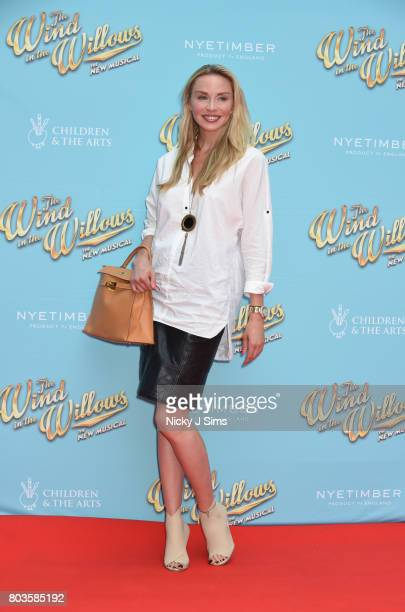 Noelle Reno attends the Gala performance of Wind In The Willows at London Palladium on June 29 2017 in London England