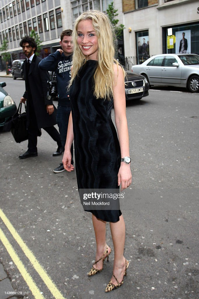 Noelle Reno attends The HUB Silent Auction Afternoon Tea at The Sanderson Hotel on May 2, 2012 in London, England.