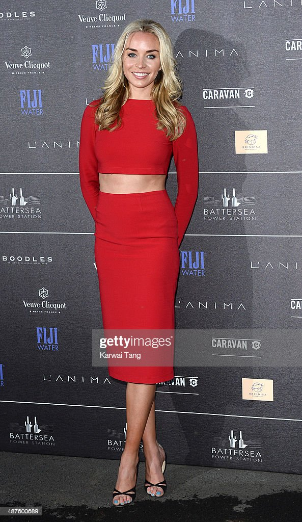 Noelle Reno attends the inaugural Battersea Power Station annual party held at Battersea Power station on April 30, 2014 in London, England.