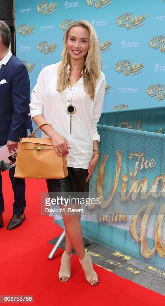 Noelle Reno attends the press night performance of 'The Wind In The Willows' at the London Palladium on June 29 2017 in London England