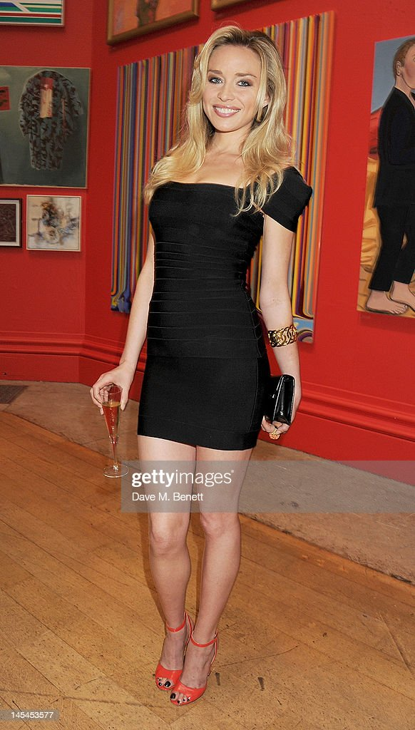 Noelle Reno attends the Royal Academy of Arts Summer Exhibition Preview Party at Royal Academy of Arts on May 30 2012 in London England