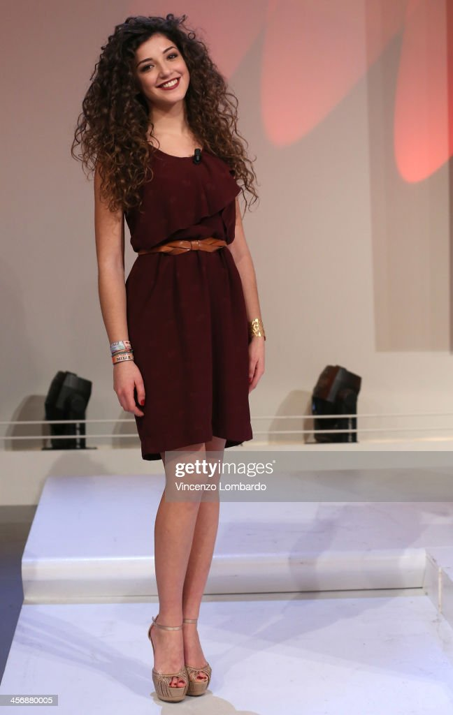 Noemi Giuglietta appears on Italian tv show 'Quelli Che Il Calcio' on December 15, 2013 in Milan, Italy.
