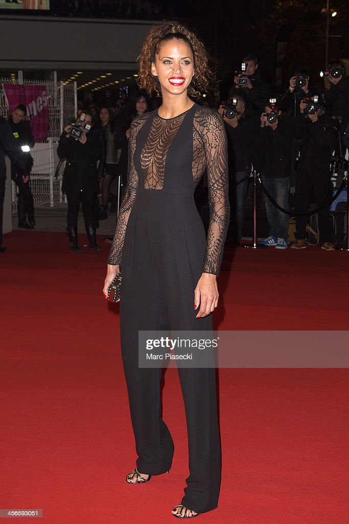 Noemie Lenoir attends the 15th NRJ Music Awards at Palais des Festivals on December 14, 2013 in Cannes, France.
