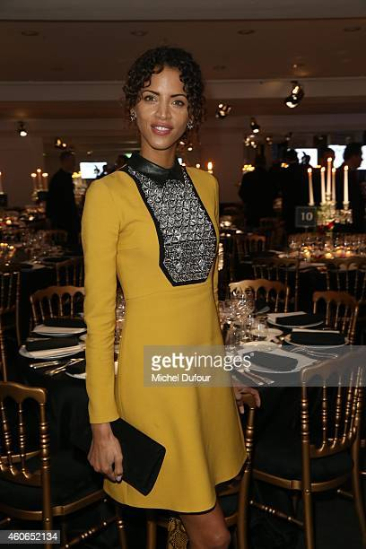 Noemie Lenoir attends the Annual Charity Dinner Hosted By The AEM Association Children Of The World For Rwanda At Espace Pierre Cardin In Paris at...