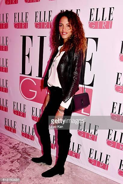 Noemie Lenoir attends the 'Elle Girl' TV Launch Party at Studio des Acacias on October 6 2016 in Paris France