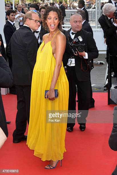 Noemie Lenoir attends the opening ceremony and premiere of 'La Tete Haute during the 68th annual Cannes Film Festival on May 13 2015 in Cannes France