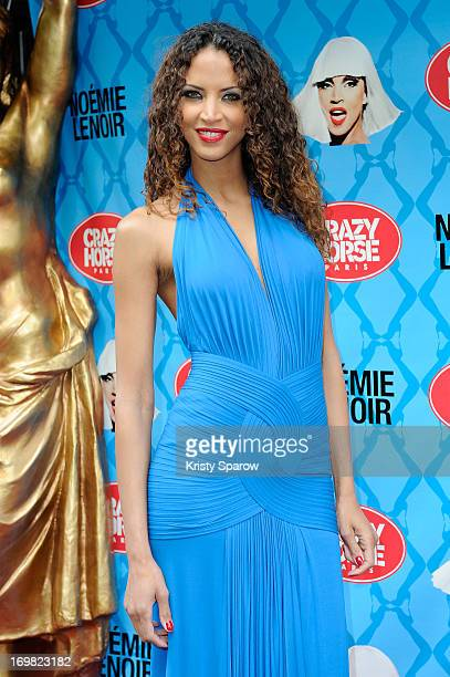 Noemie Lenoir attends the opening night of her show at Le Crazy Horse on June 2 2013 in Paris France