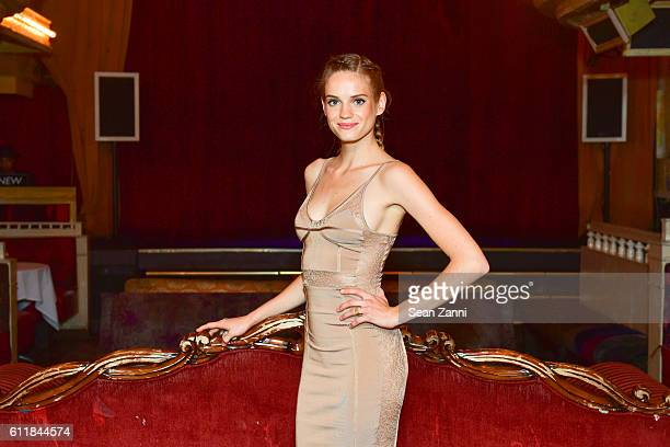 Noemie Schmidt attends Ovation TV Celebrates the October 1st Premiere of the HighlyAnticipated Drama Versailles at a Louis XIVThemed Masquerade Ball...