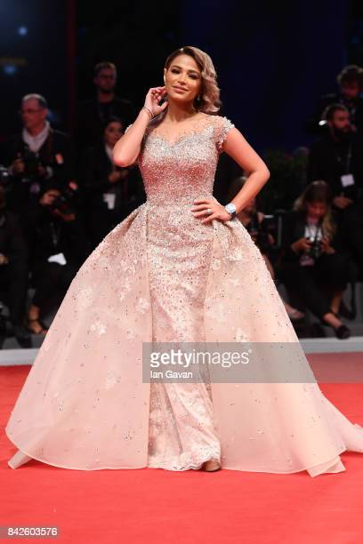 Noha Nabil walks the red carpet wearing a JaegerLeCoultre watch ahead of the 'Three Billboards Outside Ebbing Missouri' screening during the 74th...