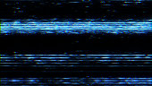 TV VHS noise and damage