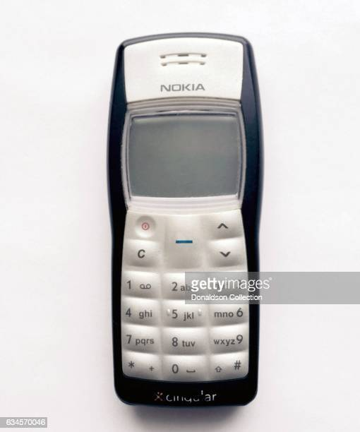 A Nokia 1100b Cell Phone produced circa 2004