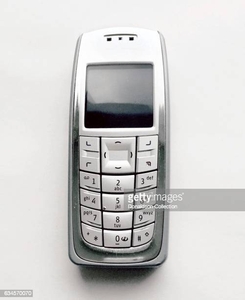A Nokia 3120b Cell Phone produced circa 2004