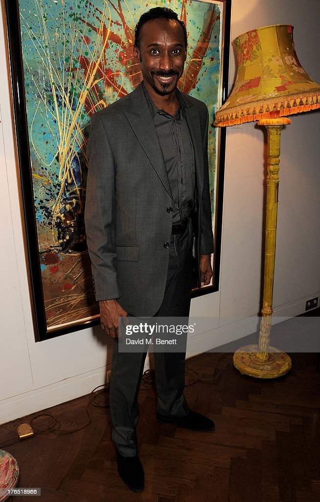 Nolan Frederick attends an after party following the press night performance of 'A Doll's House' at The Hospital Club on August 14, 2013 in London, England.