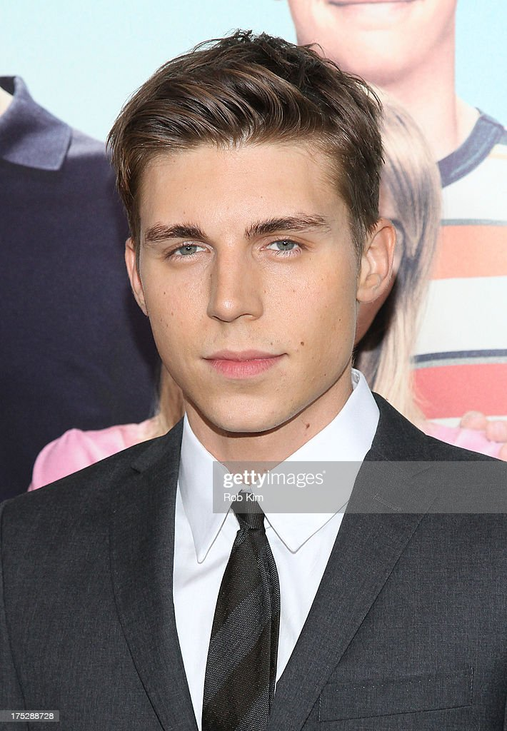 Nolan Funk attends the 'We're The Millers' New York Premiere at Ziegfeld Theater on August 1, 2013 in New York City.