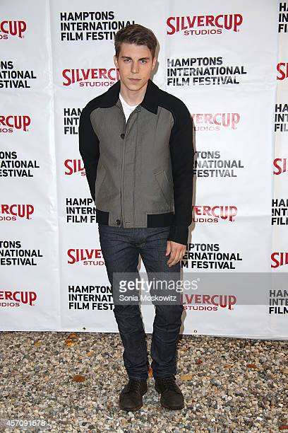 Nolan Gerard Funk attends the Chairman's Reception at the Suna Residence on October 11 2014 in East Hampton New York
