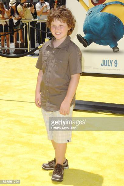 Nolan Gould attends 'Despicable Me' World Premiere at the Los Angeles Film Festival at Nokia TheaterLA Live on June 27 2010 in Los Angeles California