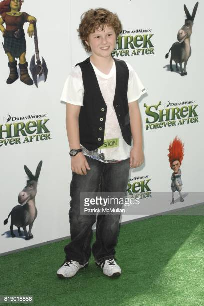 Nolan Gould attends 'Shrek Forever After' Los Angeles Premiere at Gibson Amphitheatre on May 16 2010 in Universal City CA