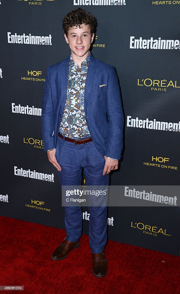 <a gi-track='captionPersonalityLinkClicked' href=/galleries/search?phrase=Nolan+Gould&family=editorial&specificpeople=5691358 ng-click='$event.stopPropagation()'>Nolan Gould</a> attends the 2014 Entertainment Weekly Pre-Emmy Party at Fig & Olive Melrose Place on August 23, 2014 in West Hollywood, California.