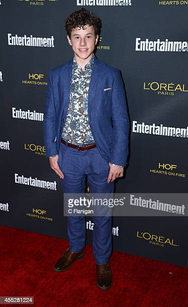 Nolan Gould attends the 2014 Entertainment Weekly PreEmmy Party at Fig Olive Melrose Place on August 23 2014 in West Hollywood California