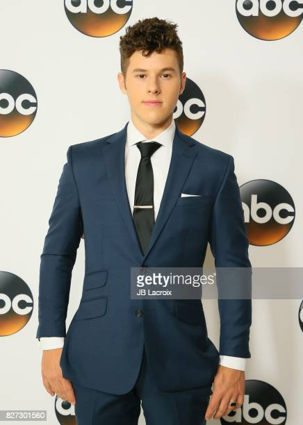 Nolan Gould attends the 2017 Summer TCA Tour 'Disney ABC Television Group' on August 06 2017 in Los Angeles California