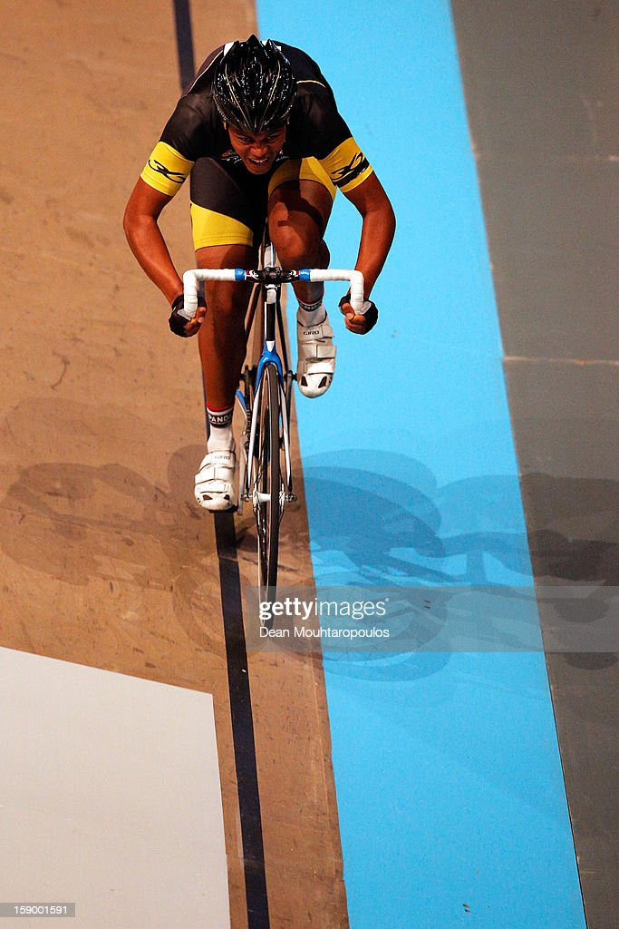 Nolan Hoffmann of South Africa competes in the Time Trial during the Rotterdam 6 Day Cycling at Ahoy Rotterdam on January 4, 2013 in Rotterdam, Netherlands.
