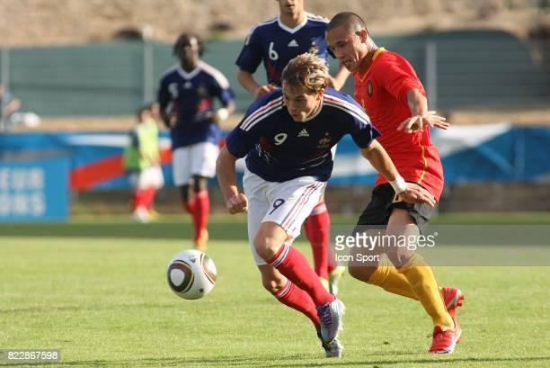 Nolan ROUX / Radja NAINGGOLAN France / Belgique Qualifications Euro 2011 Espoirs U21 Vannes