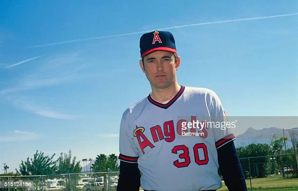 Nolan Ryan California Angles pitcher