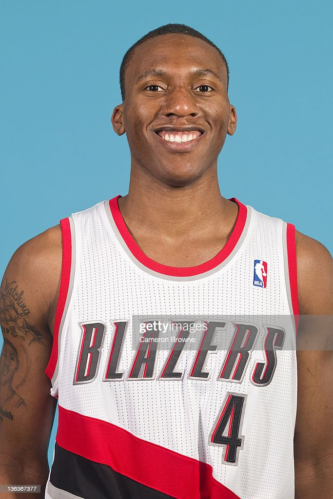 Nolan Smith #4 of the Portland Trail Blazers poses for a portrait during Media Day on December 16, 2011 at the Rose Garden Arena in Portland, Oregon.