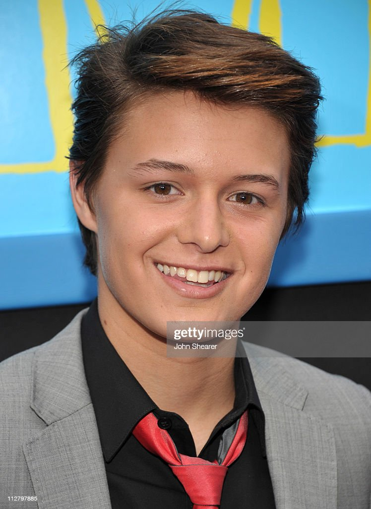 Nolan Sotillo arrives to the 'Prom' World Premiere at the El Capitan Theatre on April 21, 2011 in Hollywood, California.