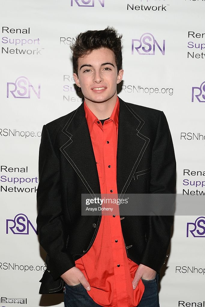 Noland Ammon arrives at the Renal Support Network hosts 14TH Annual Renal Teen Prom featuring special guest star, Jack ?Black event at Notre Dame High School on January 20, 2013 in Sherman Oaks, California.