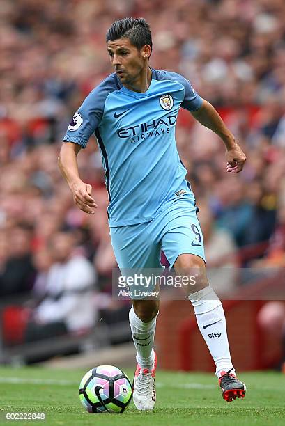 Nolito of Manchester City during the Premier League match between Manchester United and Manchester City at Old Trafford on September 10 2016 in...