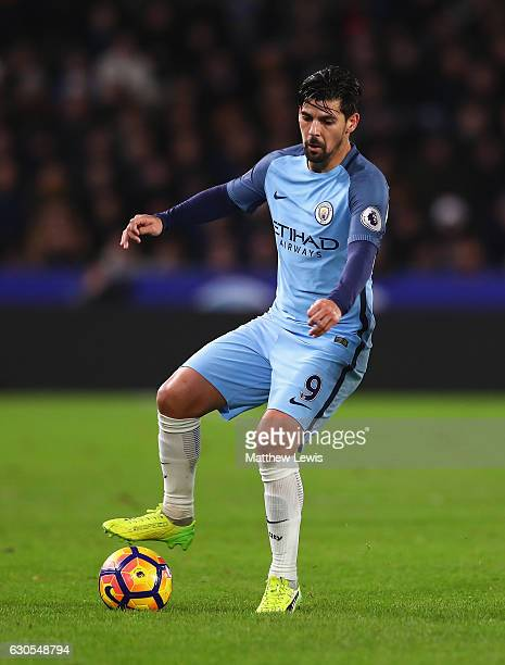 Nolito of Manchester City in action during the Premier League match between Hull City and Manchester City at KCOM Stadium on December 26 2016 in Hull...