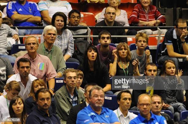 Nolwenn LEROY 1/2 Finale Coupe Davis 2010 Palais des sports de Gerland Lyon
