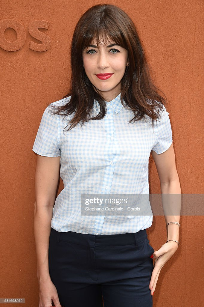 <a gi-track='captionPersonalityLinkClicked' href=/galleries/search?phrase=Nolwenn+Leroy&family=editorial&specificpeople=4343653 ng-click='$event.stopPropagation()'>Nolwenn Leroy</a> attends day six of the 2016 French Open at Roland Garros on May 27, 2016 in Paris, France.