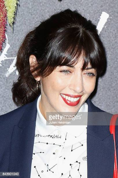 Nolwenn Leroy attends the French Premiere of 'mother' at Cinema UGC Normandie on September 7 2017 in Paris France