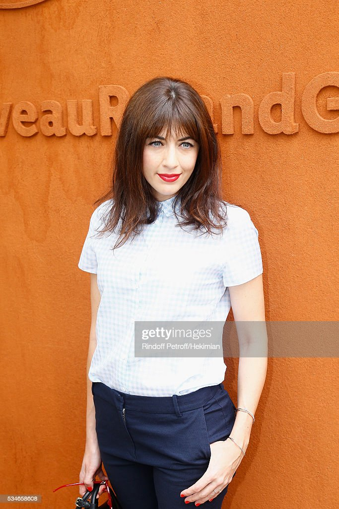 <a gi-track='captionPersonalityLinkClicked' href=/galleries/search?phrase=Nolwenn+Leroy&family=editorial&specificpeople=4343653 ng-click='$event.stopPropagation()'>Nolwenn Leroy</a> attends the French Tennis Open Day 6 at Roland Garros on May 27, 2016 in Paris, France.