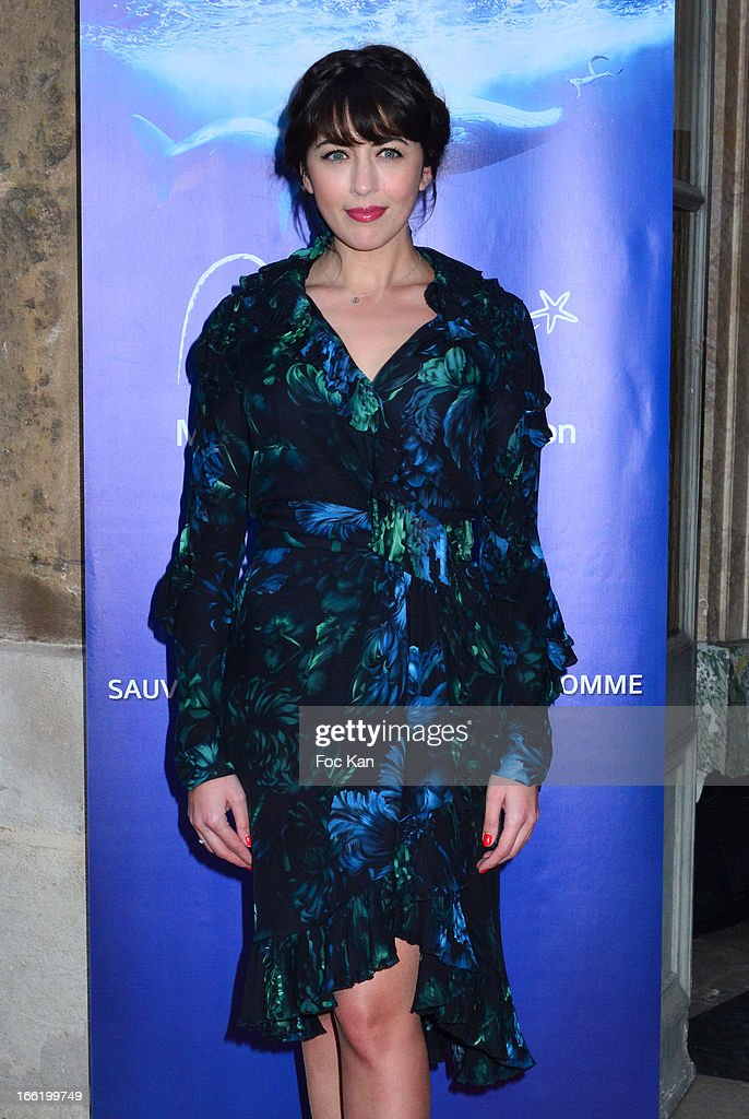 Nolwenn Leroy attends the Maud Fontenoy Foundation - Annual Gala Arrivals at Hotel de la Marine on April 9, 2013 in Paris, France.