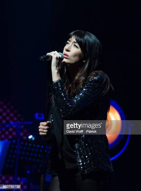 Nolwenn Leroy perfoms during Leurs Voix pour l' Espoir at L'Olympia on October 12 2017 in Paris France