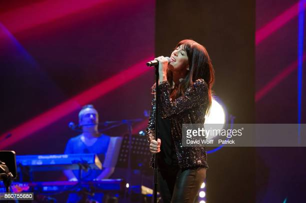 Nolwenn Leroy performs during Leurs Voix pour l' Espoir at L'Olympia on October 12 2017 in Paris France