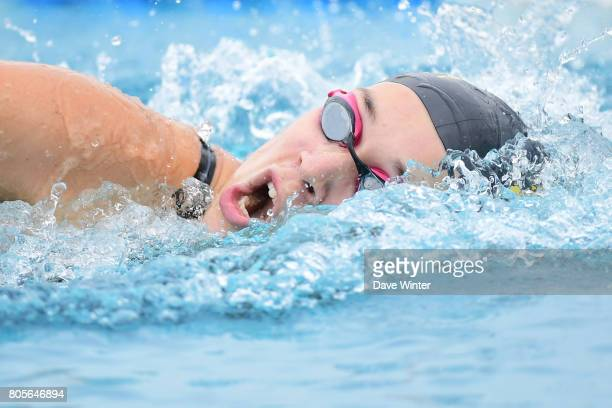 Nolwenn Nunes during the Open de France 2017 on July 2 2017 in Chartres France