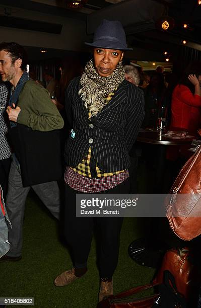 Noma Dumezweni attends the launch of new book 'Curtain Call A Year Backstage in London Theatre' a collection of backstage photography from over 50...