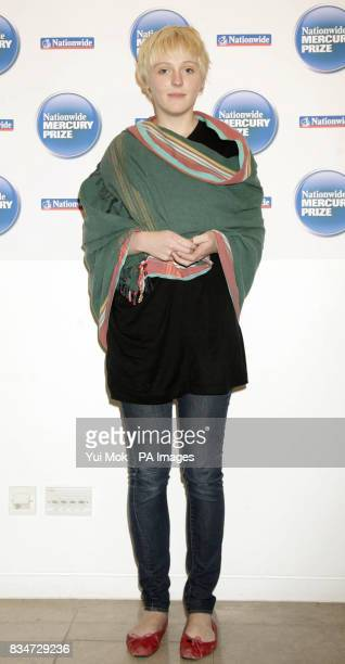 Nominated artist Laura Marling during the announcement of the shortlist for the Nationwide Mercury Prize Albums of the Year at the Hospital Club in...