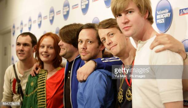 Nominated band British Sea Power during the announcement of the shortlist for the Nationwide Mercury Prize Albums of the Year at the Hospital Club in...